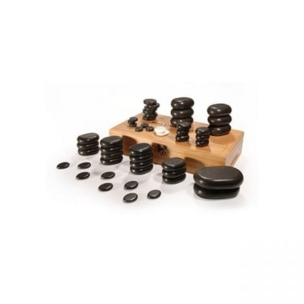 Affinity 50 Piece Basalt Hot Stone Set